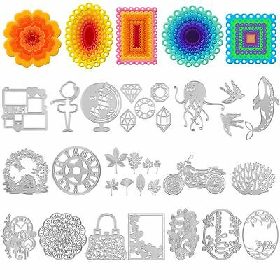 Metal DIY Cutting Dies Stencils Embossing Scrapbooking Album Papers Card Crafts