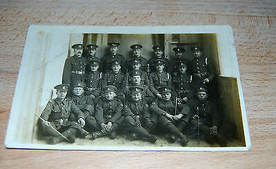 Vintage Military / Army / Soldier / Band Postcard