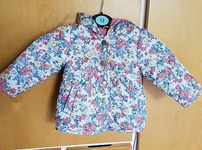 6-9 month baby girls m&s light weight jacket