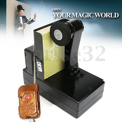 12V Remote Control Card Fountain/Spray Machine Magic Trick Stage Magical Props