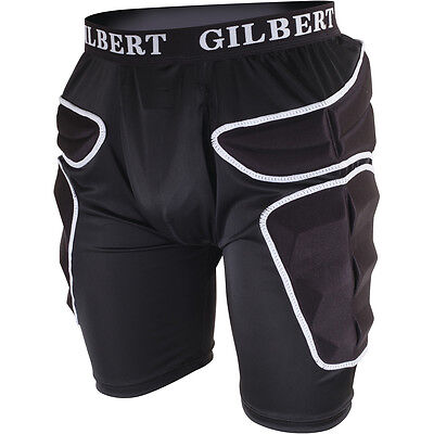 Clearance Line New Gilbert Rugby Pro Training Padded Shorts Large
