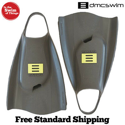 DMC Swim Elite Training Fin - Charcoal