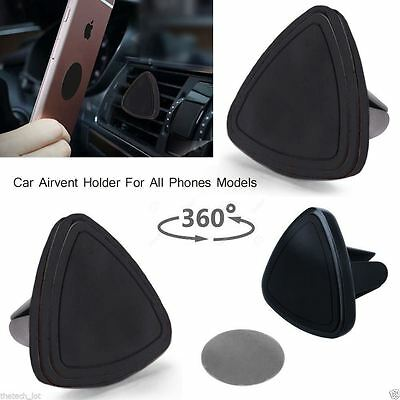 New Universal 360° Car Mount Air Vent Magnetic Holder GPS PDA Mobile Phone