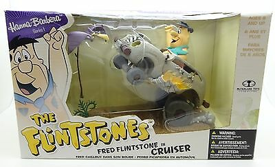 Hanna Barbera The Flintstones Fred Flintstone in Cruiser Figure Set by McFarlane