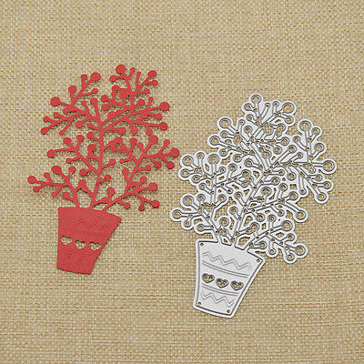 Metal Cutting Dies Plant Shape DIY Craft Scrapbooking Paper Card Decor