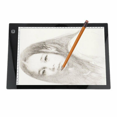 Creative LED Tracing Light Box Board A4 Drawing Pad Table Stencil Display OK@