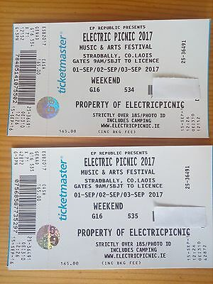 Electric Picnic 2x weekend tickets