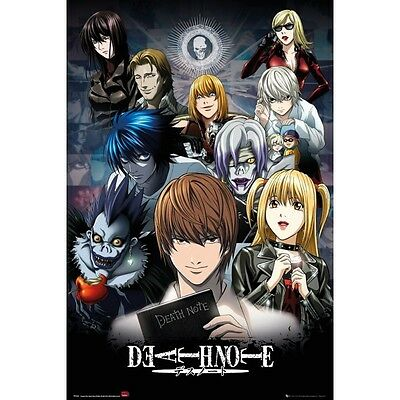 GB eye 61 x 91.5 cm Death Note Collage Maxi Poster, Multi-Colour