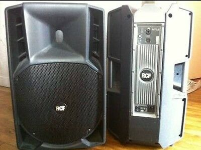 2x RCF Art 715 Mk1 Speakers With Covers