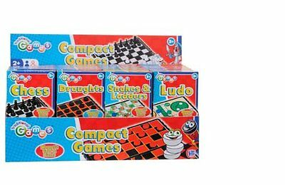 Mini Travel Magnetic Compact Snakes And Ladders Board Game And Pieces
