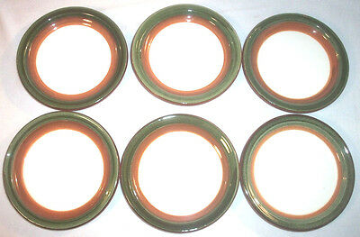 Stangl Pottery: ORCHARD SONG: Set of 6 Coasters: EXC: NR