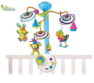 Top Quality ! Tiny Love Classic Developmental Mobile Baby Toys arm Musical Box