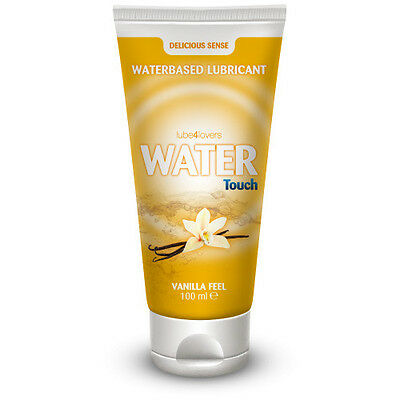 Lubrificante All'acqua Water Touch Vanilla 100Ml Lube4Love