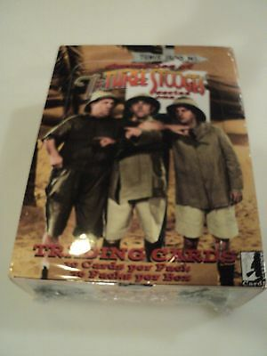 The Three 3 Stooges Chronicles Series One Trading Cards 1 Sealed Box 36 Packs