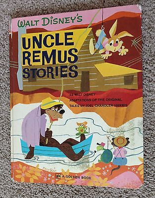 Vintage Walt Disney's Uncle Remus Stories Song of the South 1972 Hardcover
