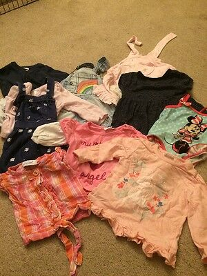 Large Girls Bundle 6-9 Months Next Mini Club Boots 9 Items