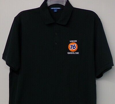 Union 76 Gasoline Mens Embroidered Polo S-6XL, LT-4XLT Petroleum Collectible New