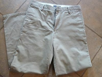 DOCKERS Straight Fit Khakis flat front 30 x 30 excellent condition