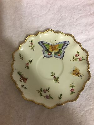 anna weatherley Spring in Budapest ruffled saucer