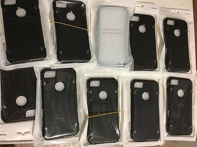iPhone Case for Apple iPhone 7. *Lot Of 50 Cases*. Black Water And Shock Resista