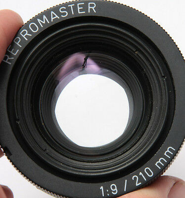 Repromaster 210mm 1:9 - Good/Fair Glass Light Speckling Clean Blades - USED D42B