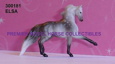 Breyer ELSA dapple grey TROTTING MORGAN STALLION Surprise Series 2 Mini Whinnie