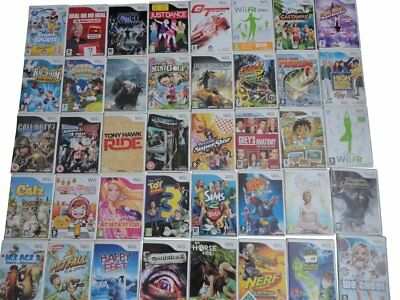 BUNDLE of RARE / COLLECTABLE Nintendo Wii GAMES Super Mario Set 2