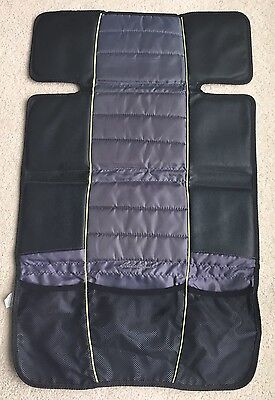 EUC Eddie Bauer Car Seat Protector Cover with Storage Pockets ($19.99 new)