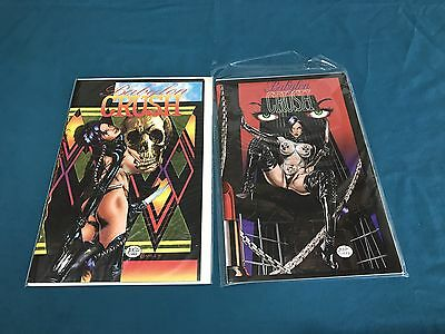 Boneyard Press Babylon Crush Lot Of 2 #1,2