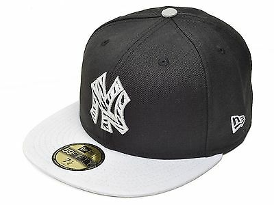 5f06360b910d3 New Era New York Yankees 59Fifty MLB League Basic Fitted Cap (NEYYAN L BKWH)