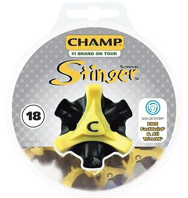 Champ Stachel Golf-Spikes Slim-Lok Stollen