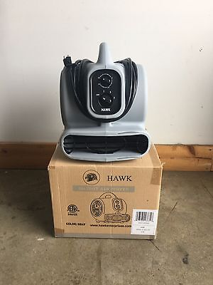 Hawk BH20DT Compact Lightweight Air Mover Carpet Dryer Blower Floor Fan