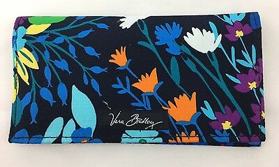 Vera Bradley Checkbook Cover in MIDNIGHT BLUES NWT Ships Free