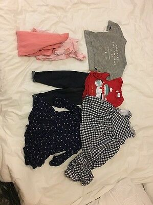 Baby Girls Clothing Bundle 6-9 Months