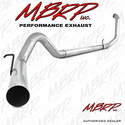 """Mbrp S6200Plm 4"""" Turbo Back Exhaust 1999-2003 Ford F250 F350 7.3L Powerstroke Nm"""