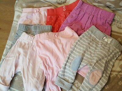 baby girls 0-3 months trousers/joggers