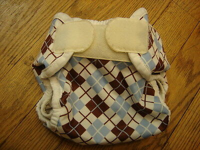 Thirsties Aplix Scottish Storm Cloth Diaper Cover
