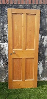 Antique Pine Wooden Door.