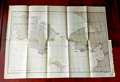 1894 Map of Port Clarence Reindeer Station and Vicinity Siberia Bering Sea