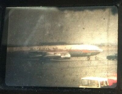 8mm Home Movie Film Reel Newark Airport American Airlines Red Texaco Fuel Truck