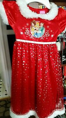 Disney Princesses Christmas Pajama Gown NEW  Cinderella Ariel Belle