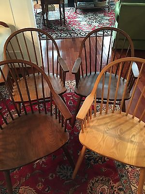 Set Of 4 Mid Century Modern Chairs Claud Bunyard