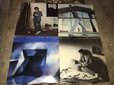 Billy Joel Lp Lot Of 7 Records Classic Rock Pop