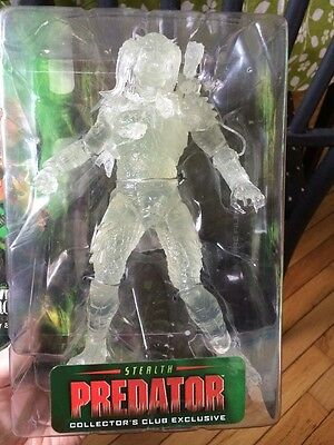 "Predator Stealth 6"" Predator 2003 New In Package Club Exclusive"