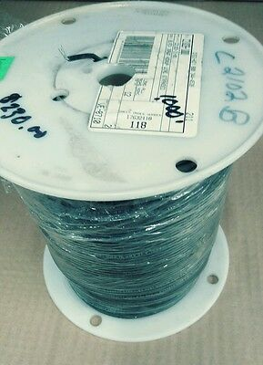 20AWG 1000' Carol Brand General Cable Spool C2102-21-01 Shielded Hook-Up Wire