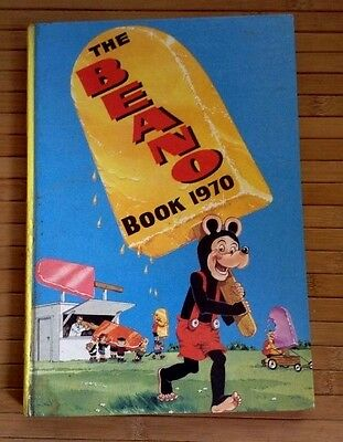 The BEANO  book 1970  D.C. Thomson & Co. good condition unmarked puzzles