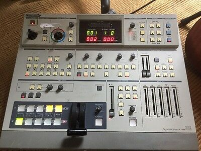 Panasonic WJ-MX50A Digital Audio Video Mixer Special Effect Generator Switcher