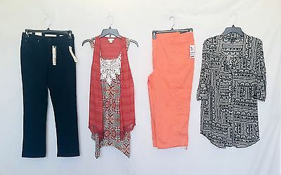 Wholesale Lot of 35 High End Womens Apparel Clothing Mixed Brands New Manifest
