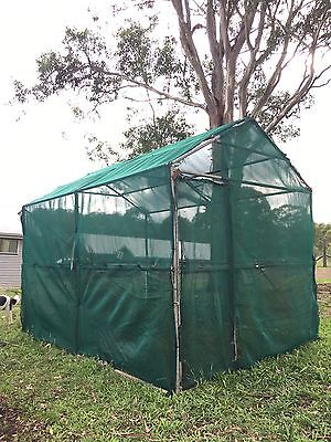 Huge Green House Shade House Chicken Coop Cubby