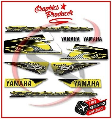 Yamaha Banshee Decals 2003 Limited Edition Full Set Graphics For OEM Fenders